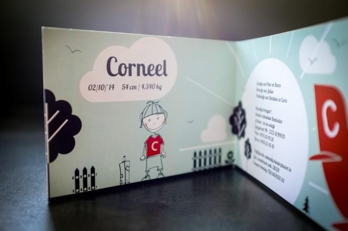 Geboortekaartje Corneel