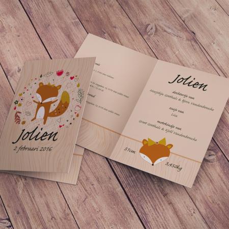 Geboortekaartje Jolien