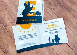 Emma - geboortekaartje op maat