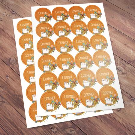 Cathinka - stickers