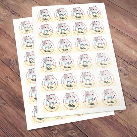 Heike - stickers