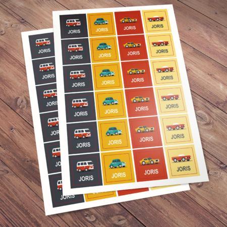 Joris - stickers
