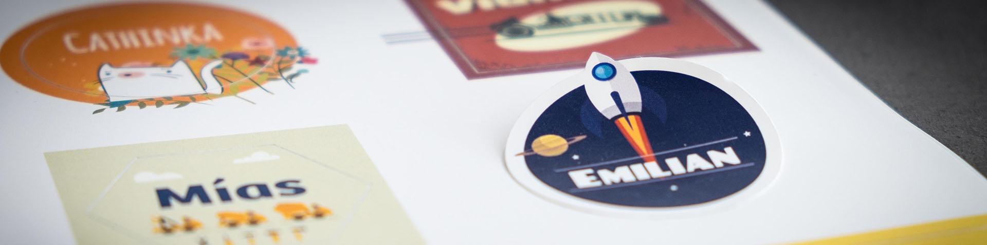 Ontwerpen, printen en snijden van stickers