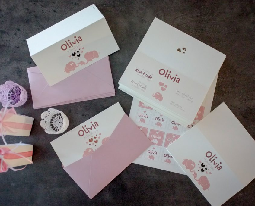 Geboortekaartje Olivia